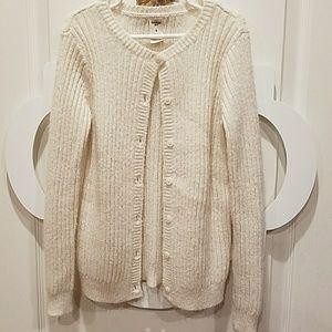 OshKosh Sweater Girls Size 8 Cream